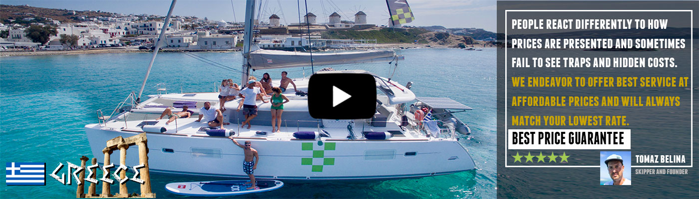 Video: Greece Catamaran Kite Safari